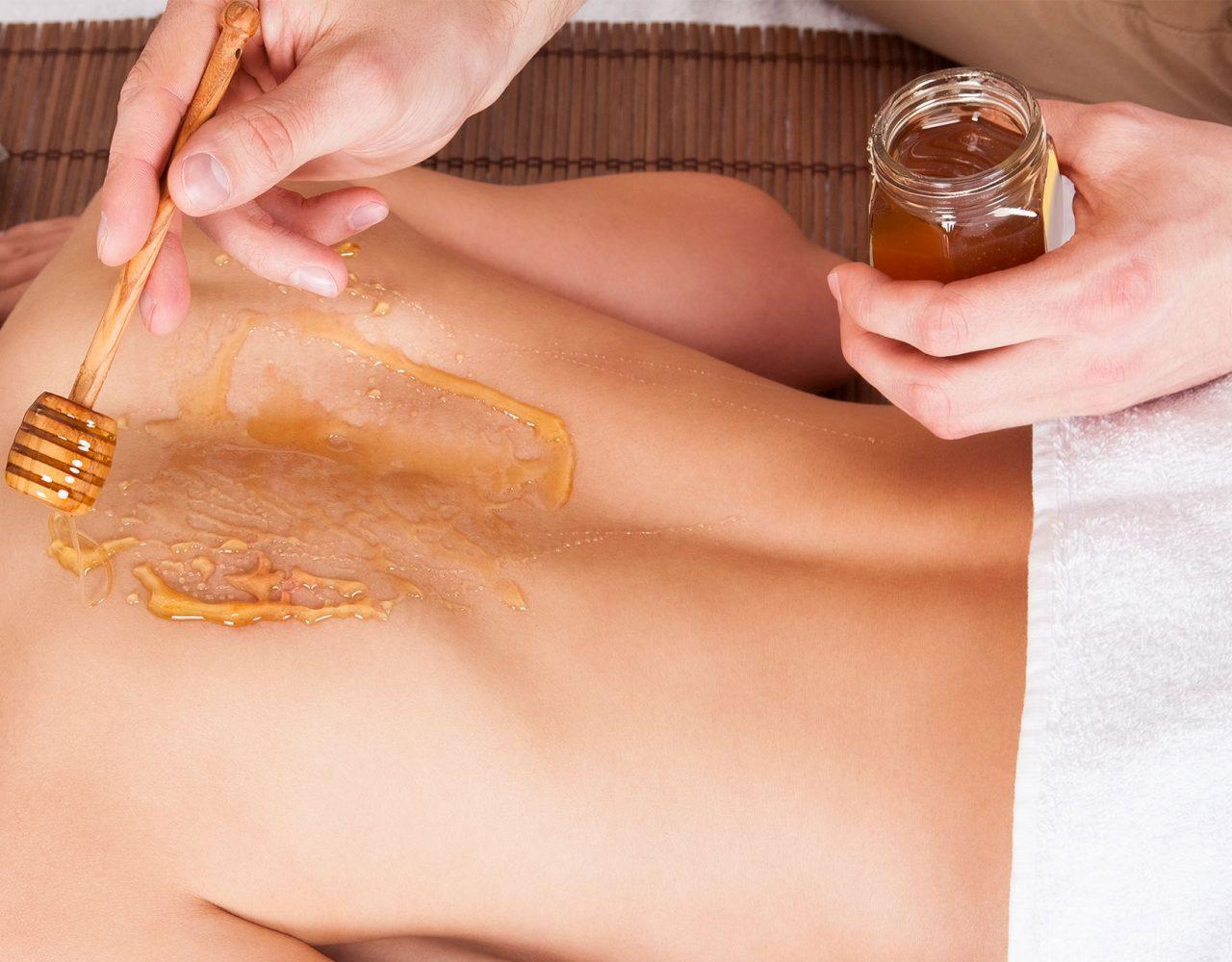 Мед и соль в бане для похудения